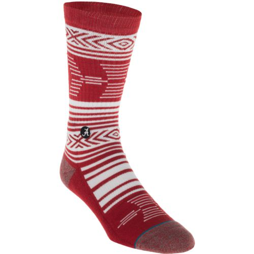 Stance Men's University of Alabama Mazed Socks