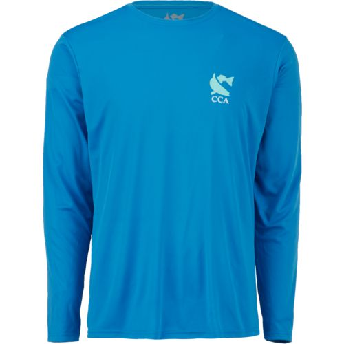 Display product reviews for CCA Men's Performance Keepin' It Coastal Long Sleeve T-shirt
