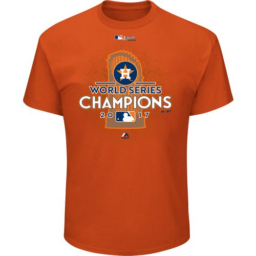Display product reviews for Majestic Men's Astros World Series Champions Locker Room T-Shirt