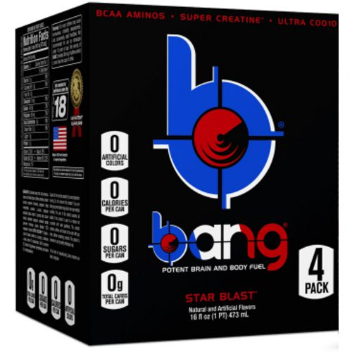 Display product reviews for VPX Bang RTD Flavored Sports Energy Drink 4-Pack