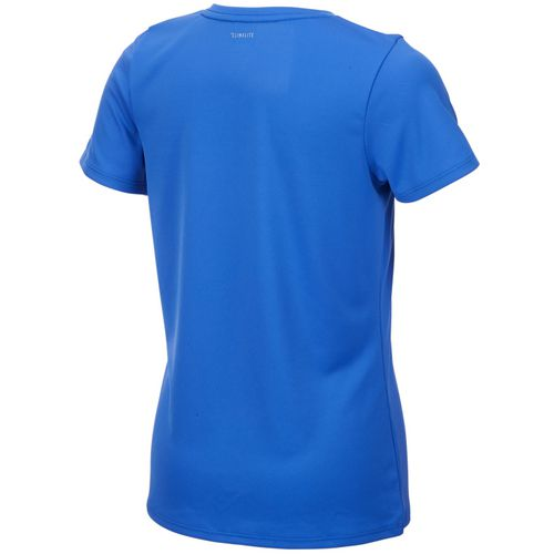 adidas Girls' climalite V-neck T-shirt - view number 2