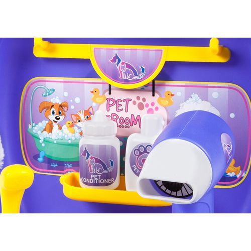 World Tech Toys Pet Grooming 16-Piece Suitcase Play Set - view number 3