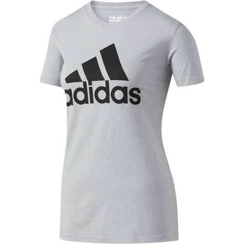 Display product reviews for adidas Women's Badge of Sport Logo T-shirt