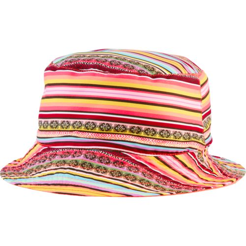 O'Rageous Girls' Reversible Print Swim Bucket Hat