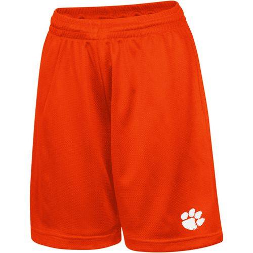 Colosseum Athletics Kids' Clemson University Basic Mesh Shorts