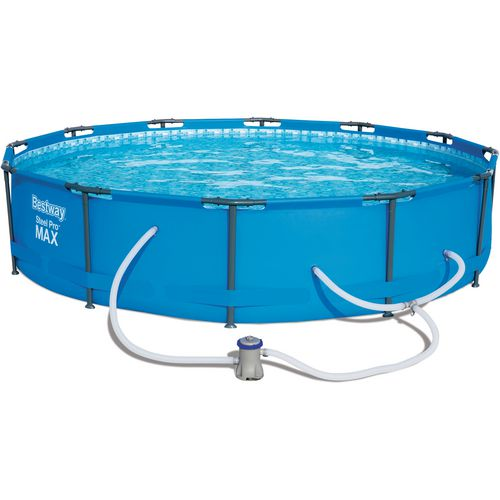 Bestway Steel Pro Max 12 ft x 30 in Round Pool