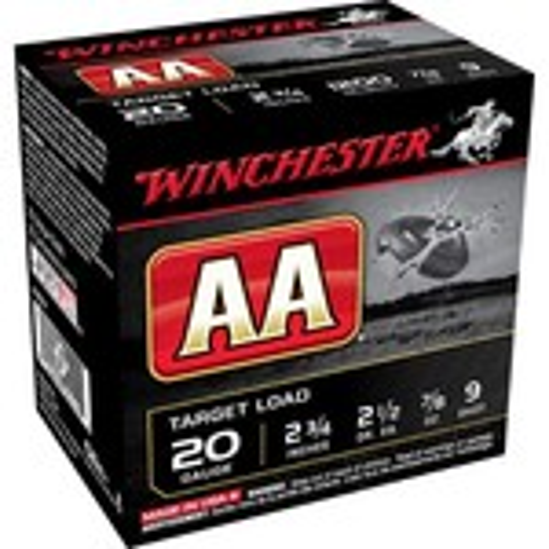 Winchester AA Target Load 20 Gauge Shotshells