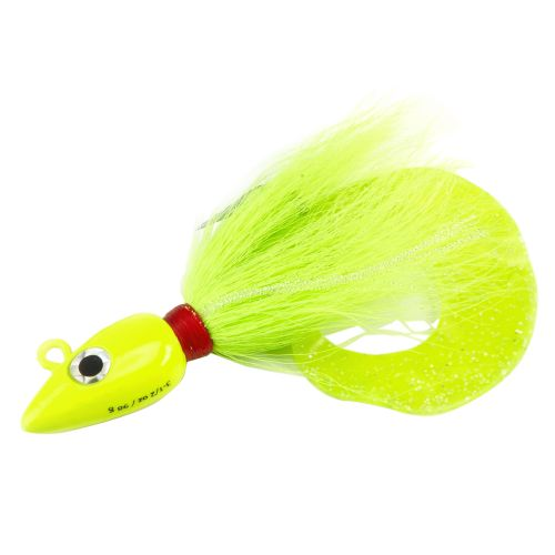 Williamson Arrow Head Chartreuse 3-1/2 oz Jig