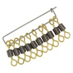 P-Line Dura-Max High-Speed Rolling Treble Swivels 10-Pack - view number 1
