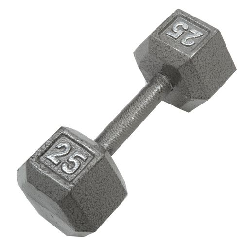 Display product reviews for CAP Barbell 25 lb. Solid Hex Dumbbells
