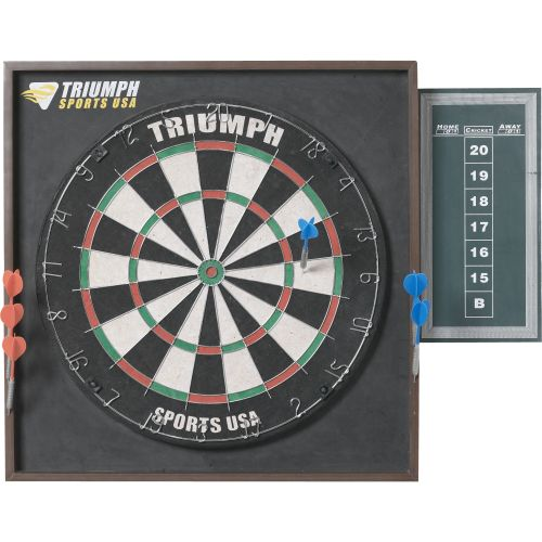 Triumph Sports USA Deluxe Backboard Combo Unit Advantage Dart Center