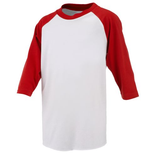 Rawlings® Kids' 3/4 Length Sleeve T-shirt