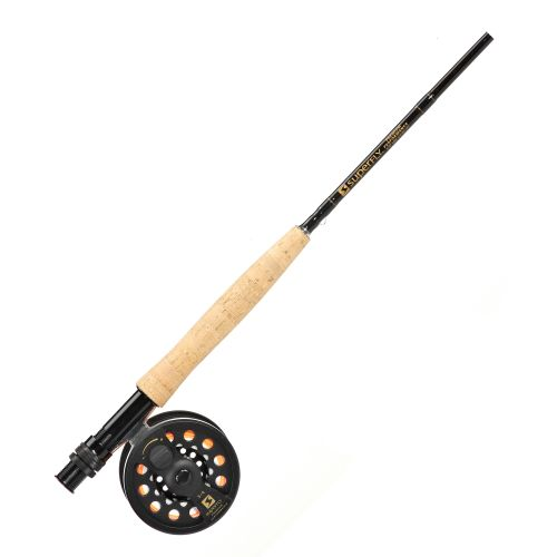 Superfly Premium Performance 9 ft Freshwater/Saltwater Fly Rod and Reel Combo