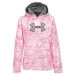 Under Armour® Girls' ColdGear® Power in Pink Hoodie