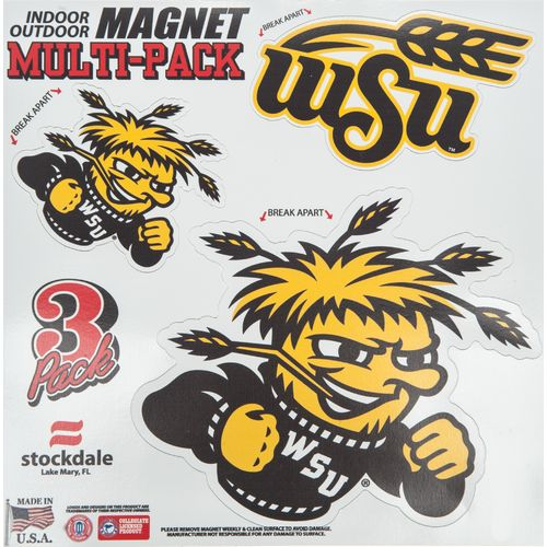"Stockdale NCAA 8"" x 8"" Magnet Multipack"