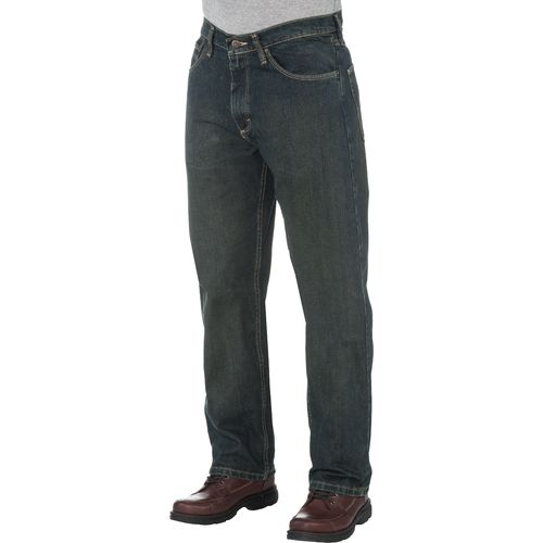Display product reviews for Magellan Outdoors Men's 5-Pocket Loose Fit Jean