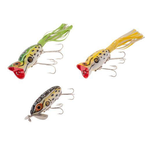 Arbogast triple threat topwater lures 3 pack academy for Academy fishing lures