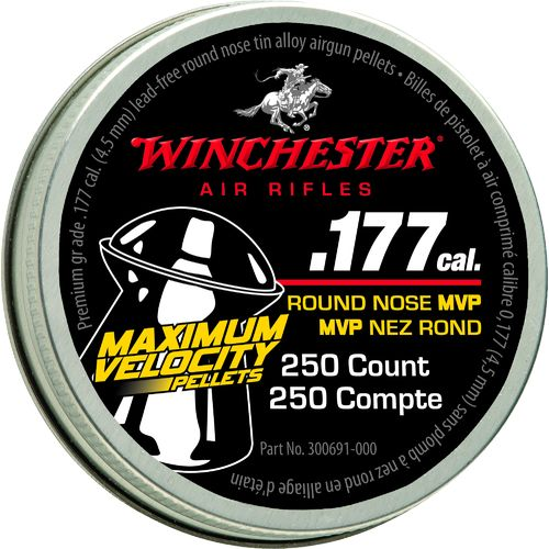 Display product reviews for Daisy® Winchester Maximum Velocity .177 Air Rifle Pellets 250-Pack