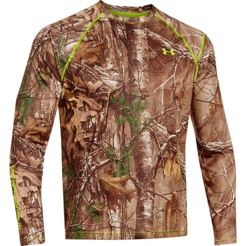 Under Armour  Men s EVO Scent Control  Realtree Xtra  Camo Long Sleeve Shirt
