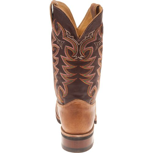 Justin Men's AQHA Q-CREPE® America Cowhide Western Boots - view number 7