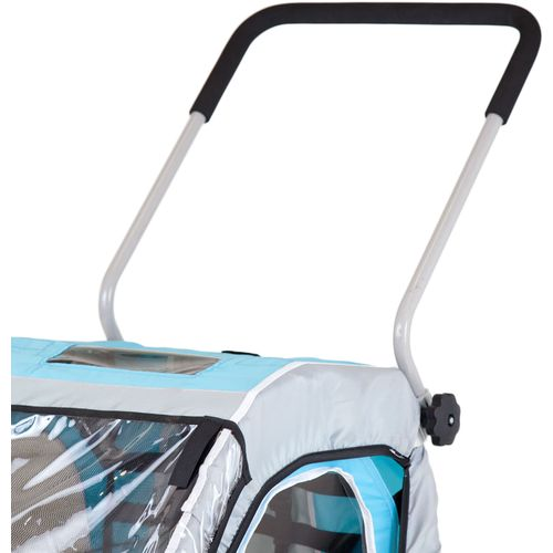Allen Sports SST1 2-in-1 Hitch-Mounted Bike Trailer/Jogger - view number 7