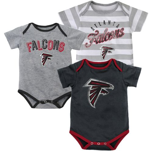 NFL Infants' Atlanta Falcons Field Goal Bodysuit Set