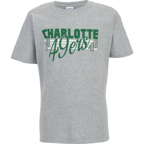 Viatran Boys' University of North Carolina at Charlotte Full Melon T-shirt