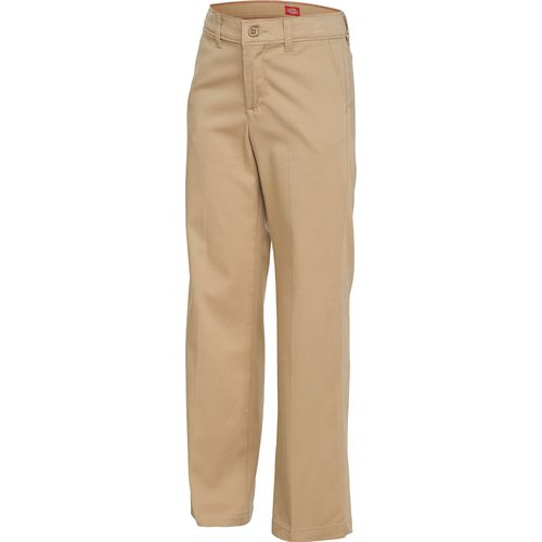 Dickies Girls' Stretch Classic Straight Leg Pant