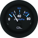 SeaStar Solutions Eclipse Oil Pressure Gauge - view number 1
