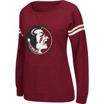 Colosseum Athletics Women's Florida State University Stadium Vegas Boat Neck Pullover