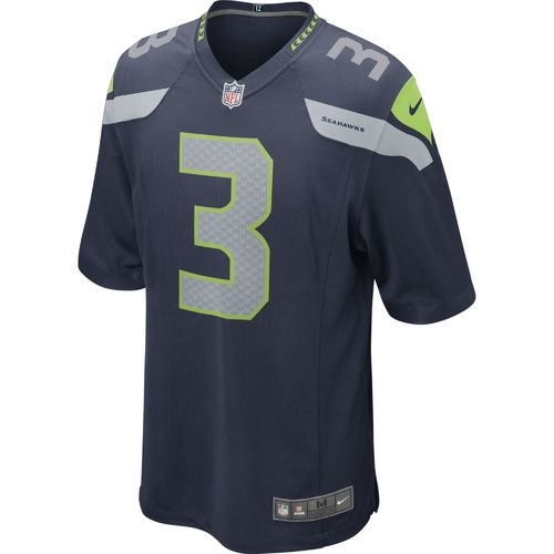 Nike Men's Seattle Seahawks Russell Wilson #3 Game Team Jersey