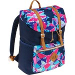 Fashion Vinyl Flap Backpack