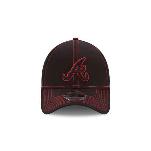 New Era Men's Atlanta Braves Neo 39THIRTY Stretch Fit Cap