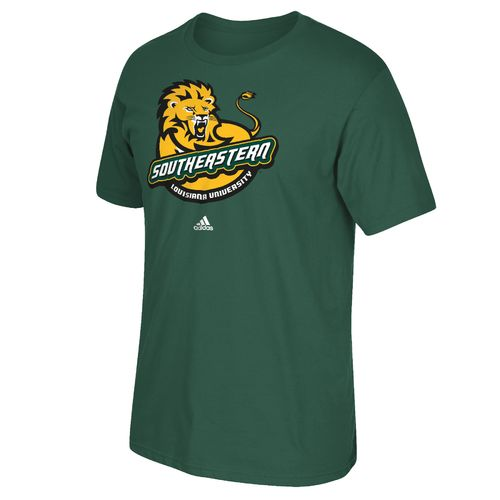 adidas™ Men's Southeastern Louisiana University School Logo T-shirt