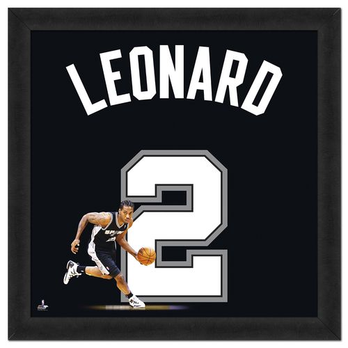 Photo File San Antonio Spurs Kawhi Leonard #2 UniFrame 20' x 20' Framed Photo