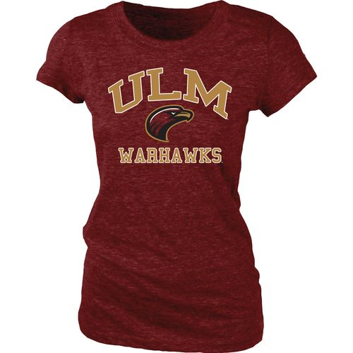 Blue 84 Juniors' University of Louisiana at Monroe Triblend T-shirt