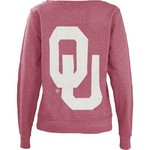 Three Squared Women's University of Oklahoma Arial Fleece Top
