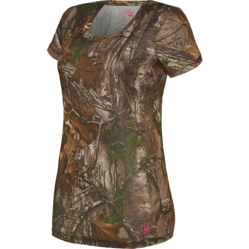 Game Winner® Women's Eagle Pass Camo Short Sleeve Shirt