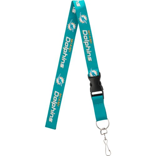 Pro Specialties Group Miami Dolphins Team-Color Lanyard