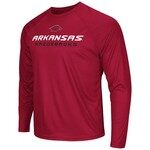 Colosseum Athletics Men's University of Arkansas Tread Long Sleeve T-shirt