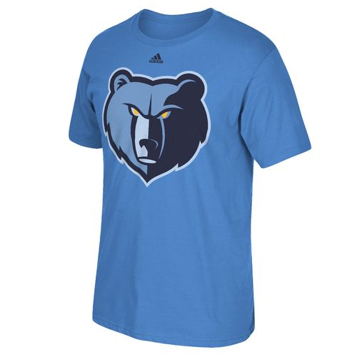adidas™ Men's Memphis Grizzlies Tip-Off Huge Preferred Logo T-shirt