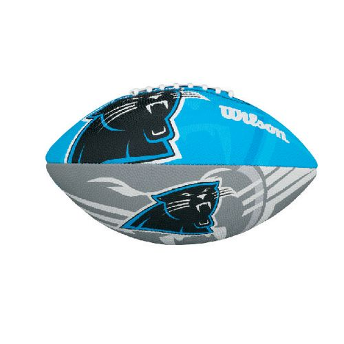 Wilson Kids' Carolina Panthers Junior Team Logo Football