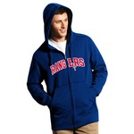 Antigua Men's Texas Rangers Signature Full Zip Hoodie