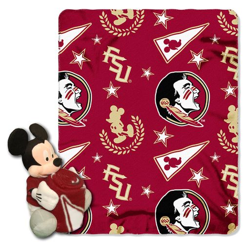 The Northwest Company Florida State University Mickey Mouse Hugger and Fleece Throw Set
