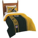 The Northwest Company Green Bay Packers Twin Comforter and Sham Set