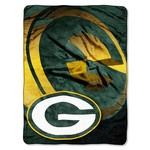 The Northwest Company Green Bay Packers Bevel Micro Raschel Throw
