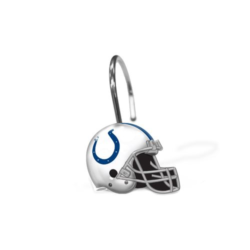 The Northwest Company Indianapolis Colts Shower Curtain Rings 12-Pack