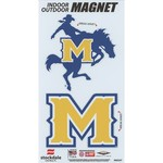 Stockdale McNeese State University Logo Magnets 2-Pack