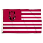 BSI University of Arkansas USA Motif Flag - view number 1