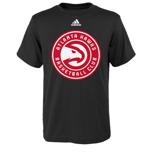adidas™ Boys' Atlanta Hawks Primary Logo Short Sleeve T-shirt